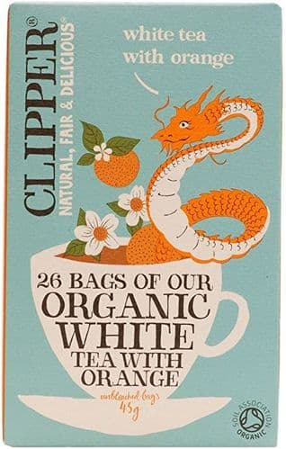 Clipper Organic White Tea with Orange